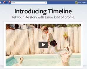 Introducing Facebook's Timeline